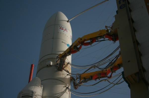 Ariane 5. Tir.